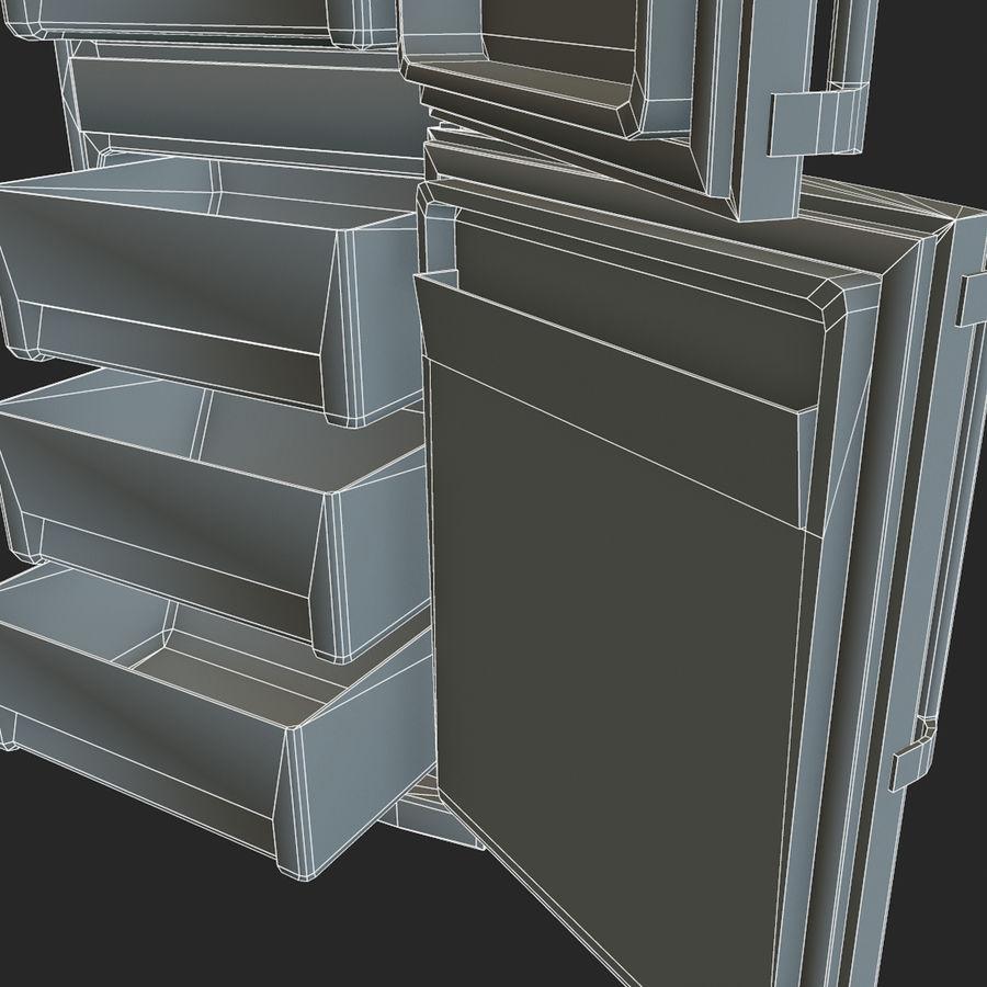 冷蔵庫のゲーム準備 royalty-free 3d model - Preview no. 24