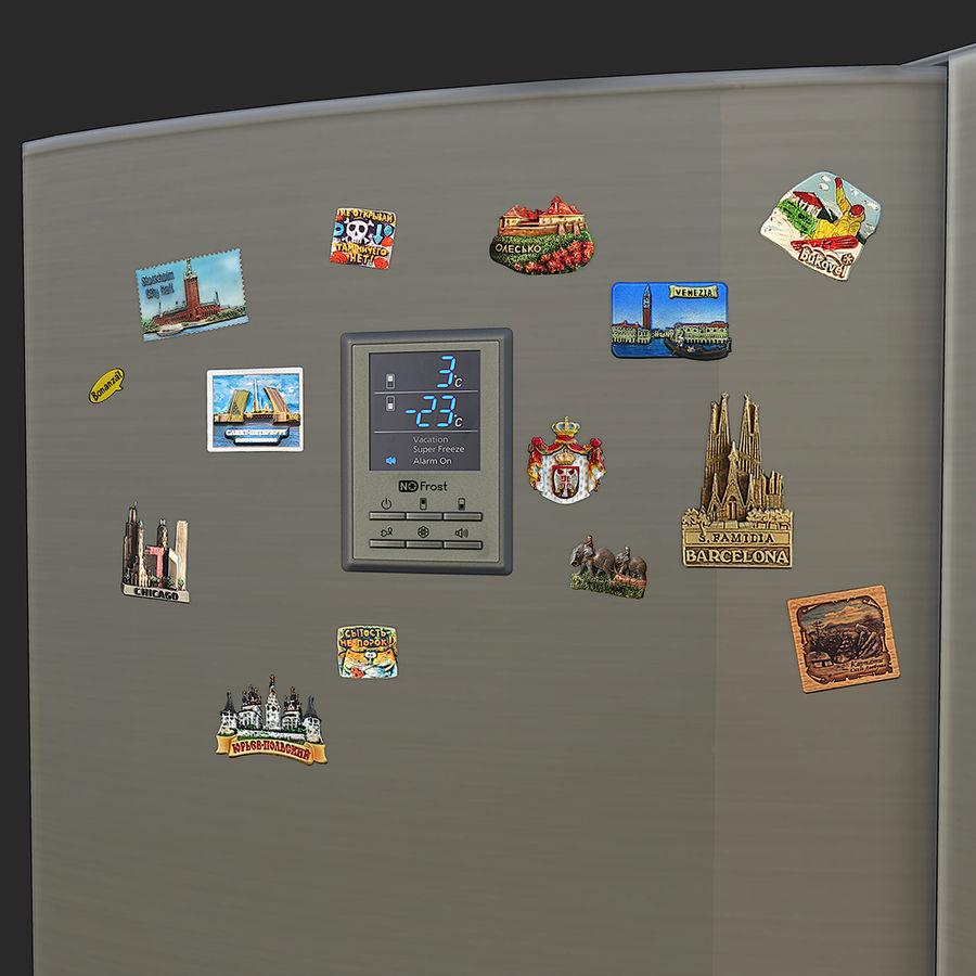 冷蔵庫のゲーム準備 royalty-free 3d model - Preview no. 7