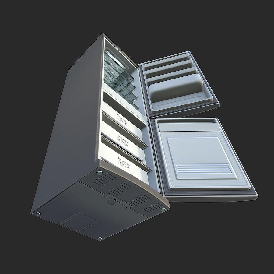 冷蔵庫のゲーム準備 royalty-free 3d model - Preview no. 11
