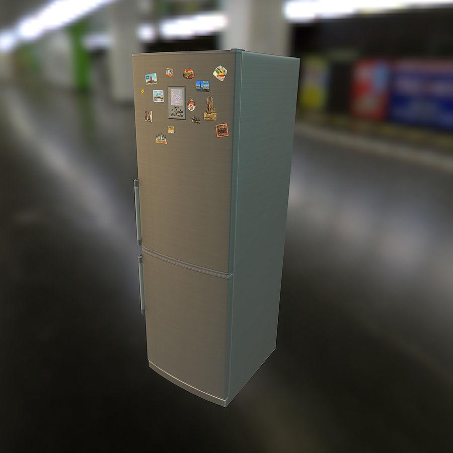 冷蔵庫のゲーム準備 royalty-free 3d model - Preview no. 15