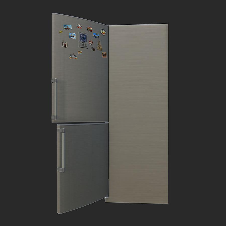 冷蔵庫のゲーム準備 royalty-free 3d model - Preview no. 6