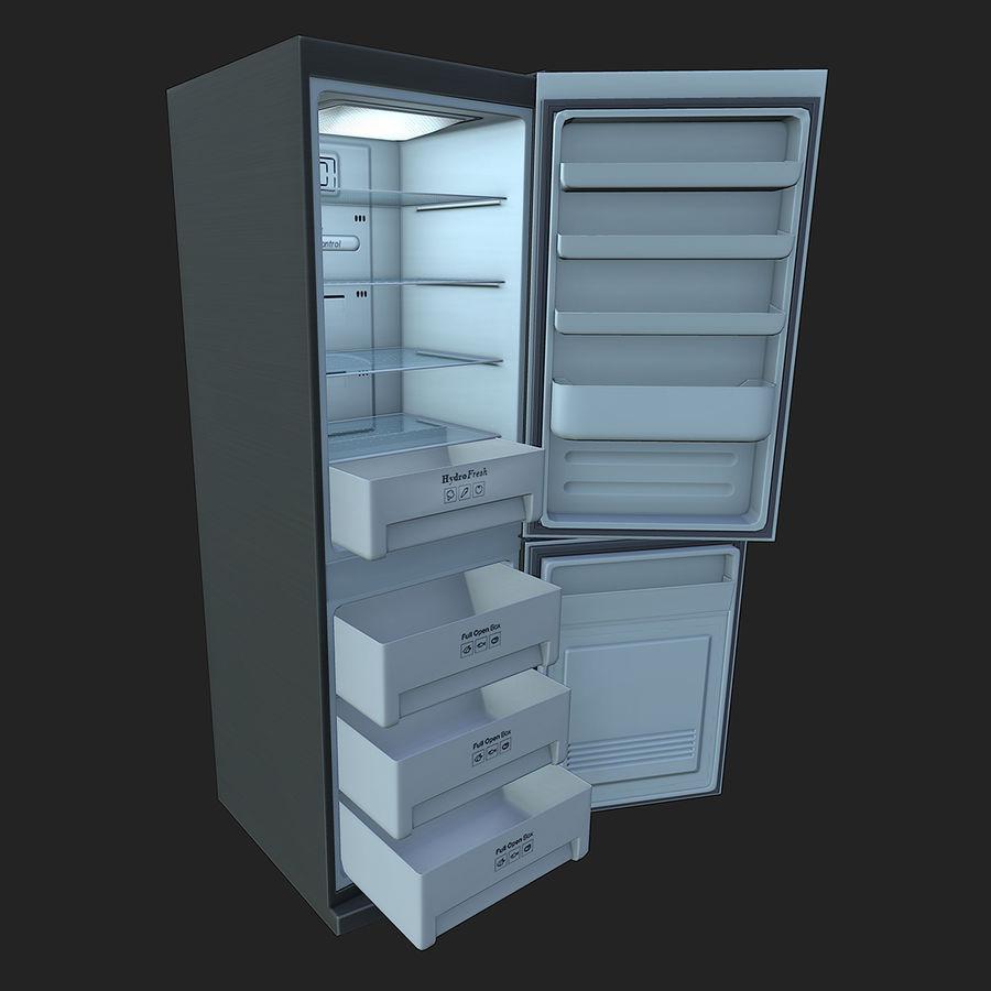 冷蔵庫のゲーム準備 royalty-free 3d model - Preview no. 14