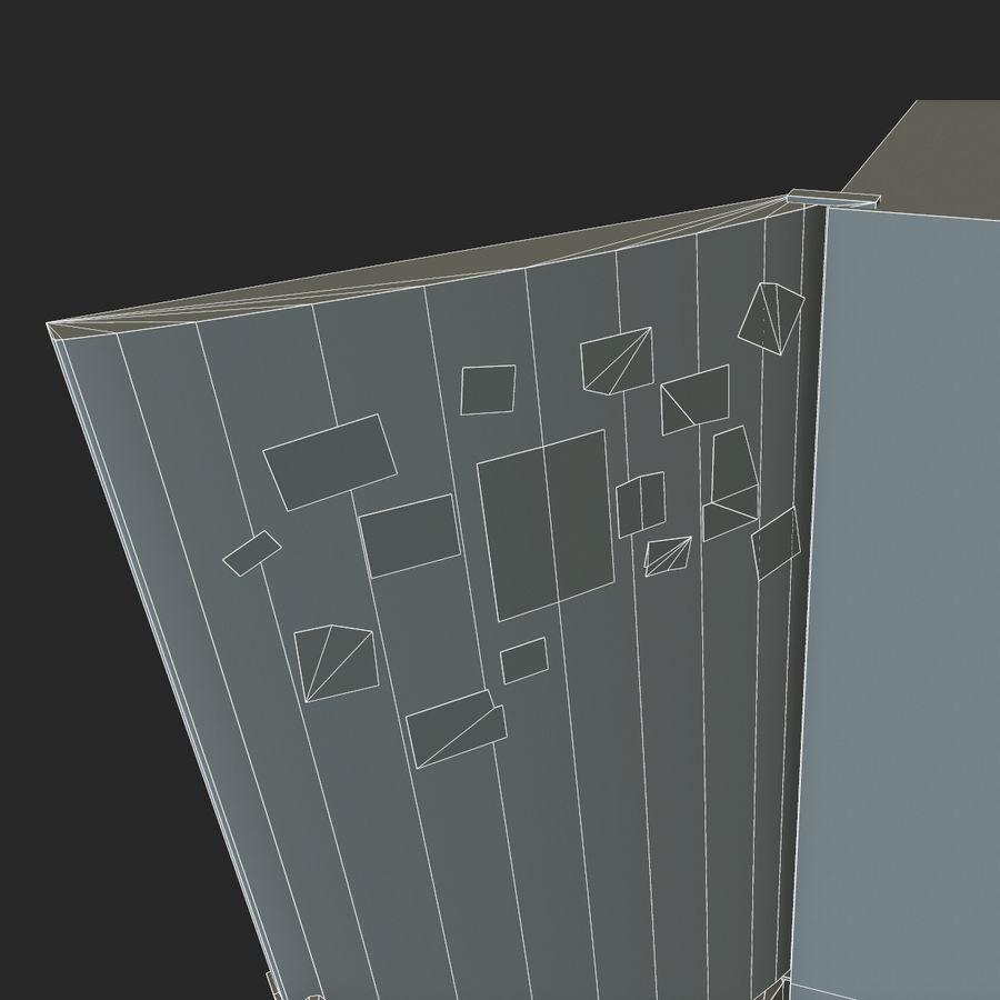 冷蔵庫のゲーム準備 royalty-free 3d model - Preview no. 23
