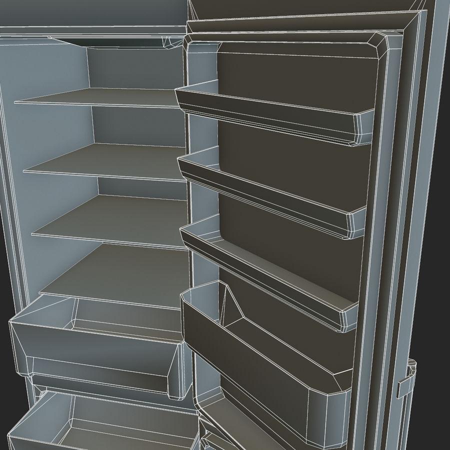 冷蔵庫のゲーム準備 royalty-free 3d model - Preview no. 25