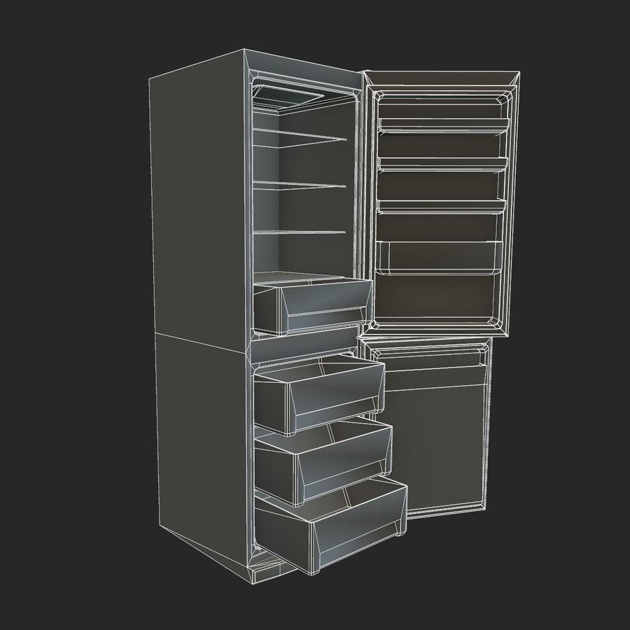 冷蔵庫のゲーム準備 royalty-free 3d model - Preview no. 20
