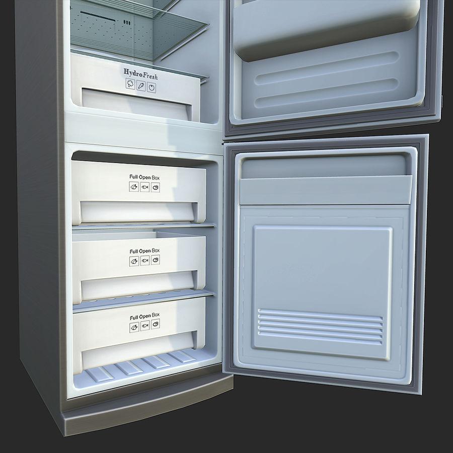 冷蔵庫のゲーム準備 royalty-free 3d model - Preview no. 9