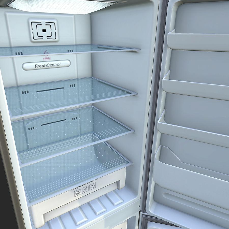 冷蔵庫のゲーム準備 royalty-free 3d model - Preview no. 8