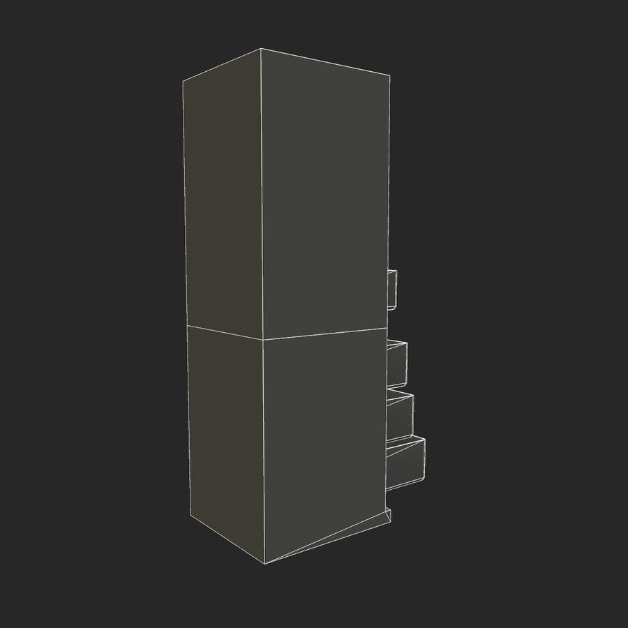 冷蔵庫のゲーム準備 royalty-free 3d model - Preview no. 22