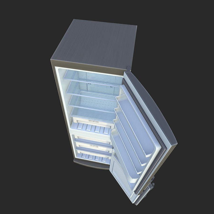 冷蔵庫のゲーム準備 royalty-free 3d model - Preview no. 10