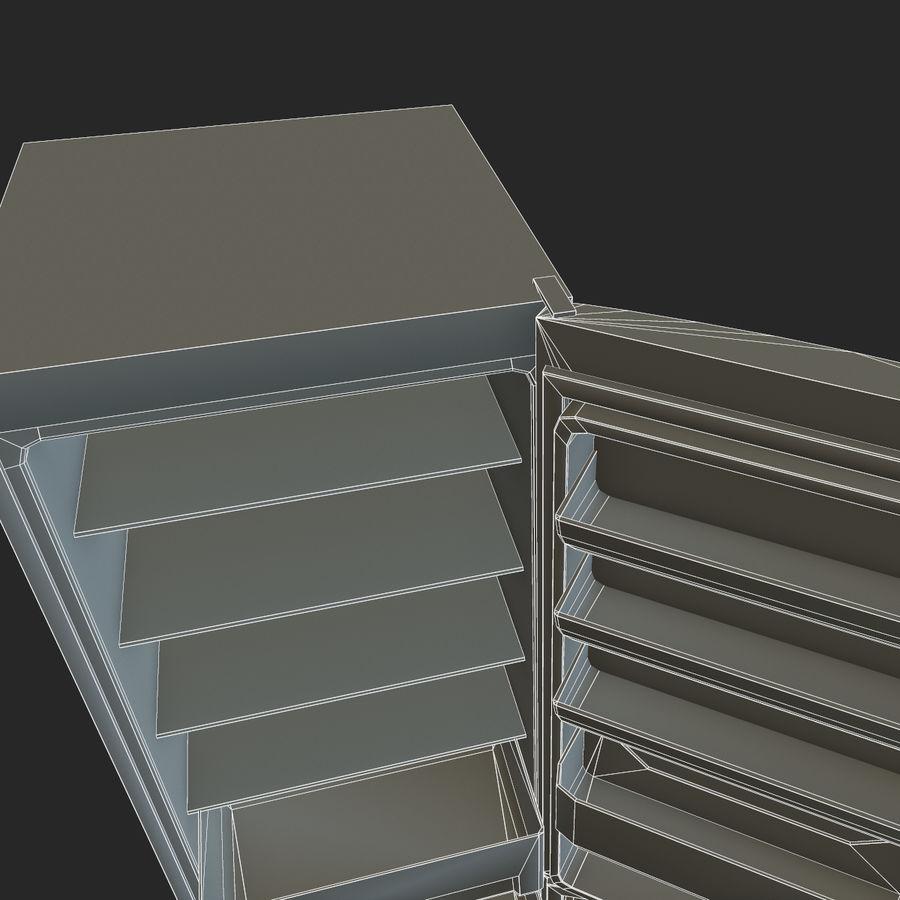 冷蔵庫のゲーム準備 royalty-free 3d model - Preview no. 26