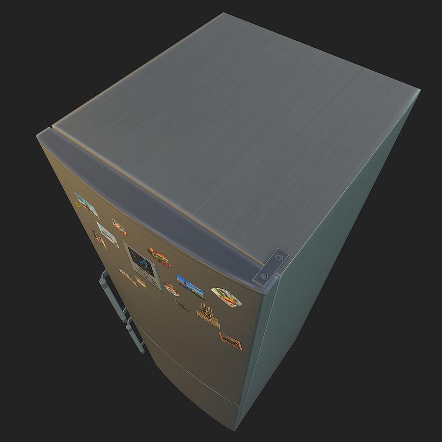 冷蔵庫のゲーム準備 royalty-free 3d model - Preview no. 13