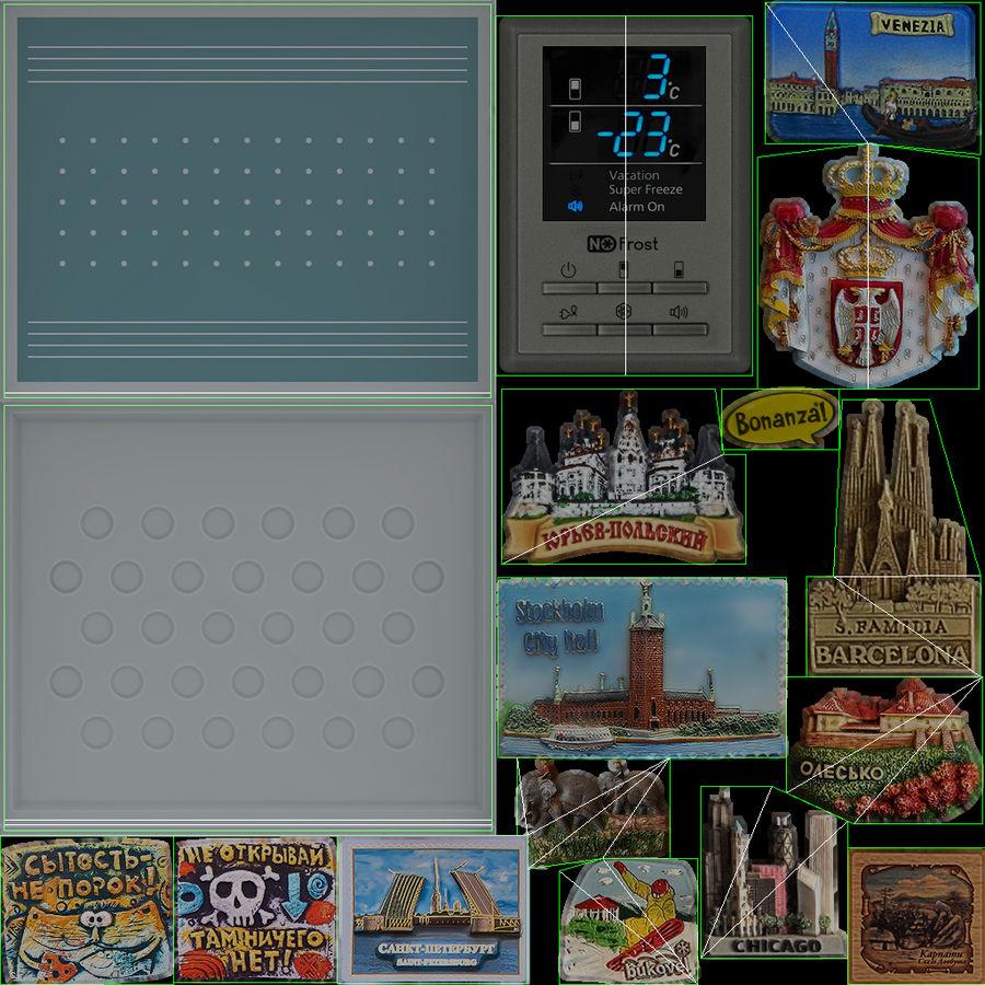 冷蔵庫のゲーム準備 royalty-free 3d model - Preview no. 31