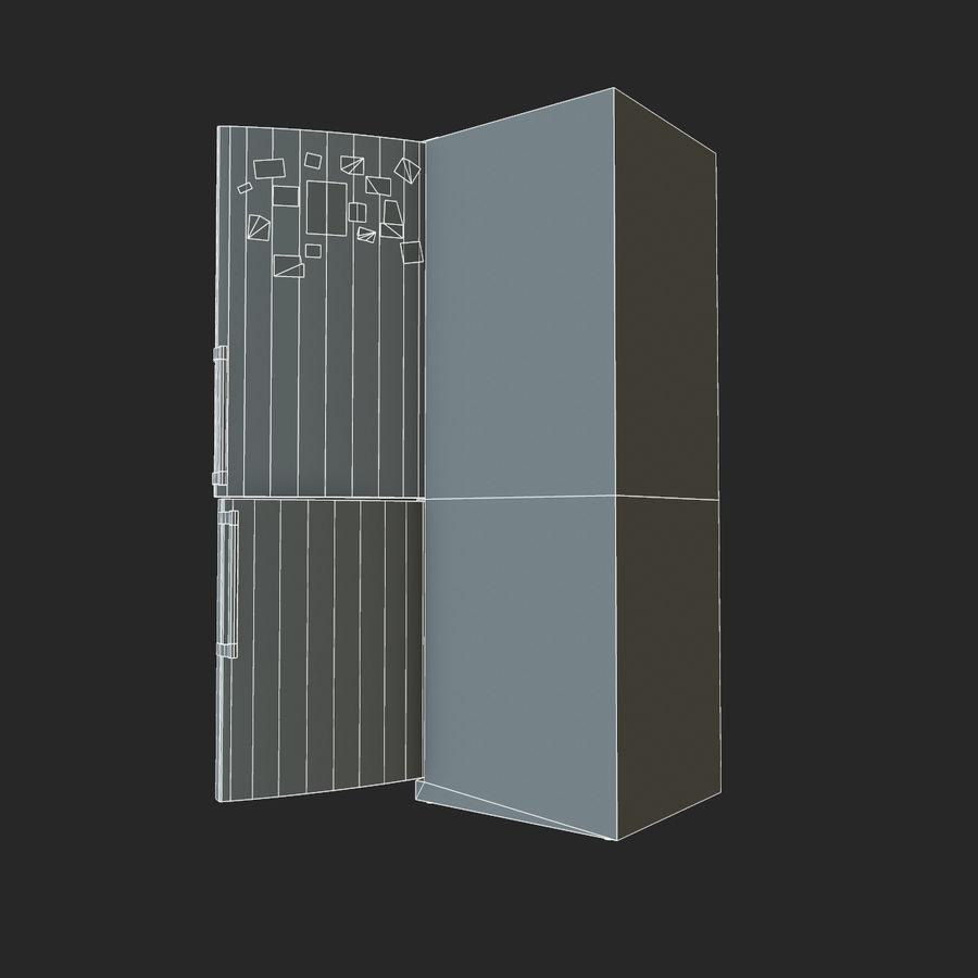 冷蔵庫のゲーム準備 royalty-free 3d model - Preview no. 21