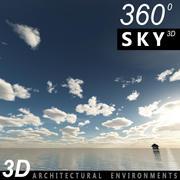 Sky 3D Day 007 3d model