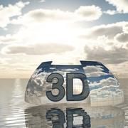 天空3D日007 3d model