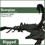 Rigged Scorpion 3d model