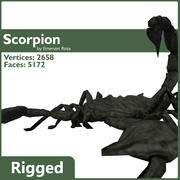 Rigged Scorpion 3d model