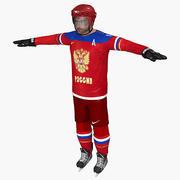 Ovechkin Sochi 2014 Team Russia Character 3d model