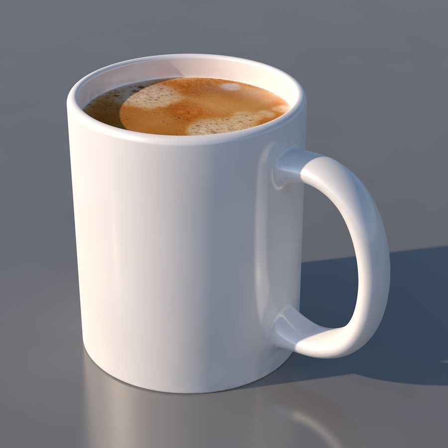 Coffee Mug royalty-free 3d model - Preview no. 2