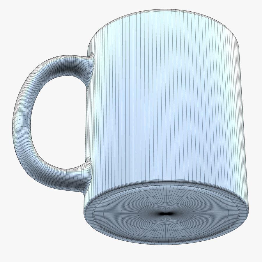 Taza de café royalty-free modelo 3d - Preview no. 8