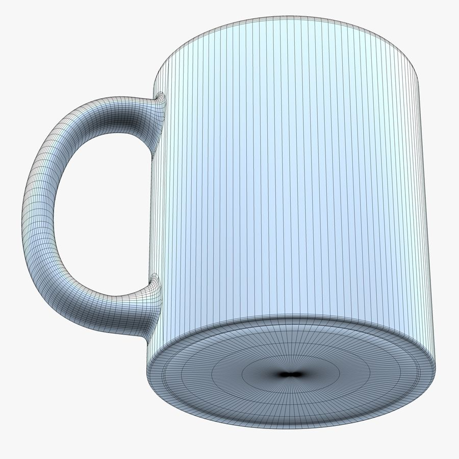 Coffee Mug royalty-free 3d model - Preview no. 8