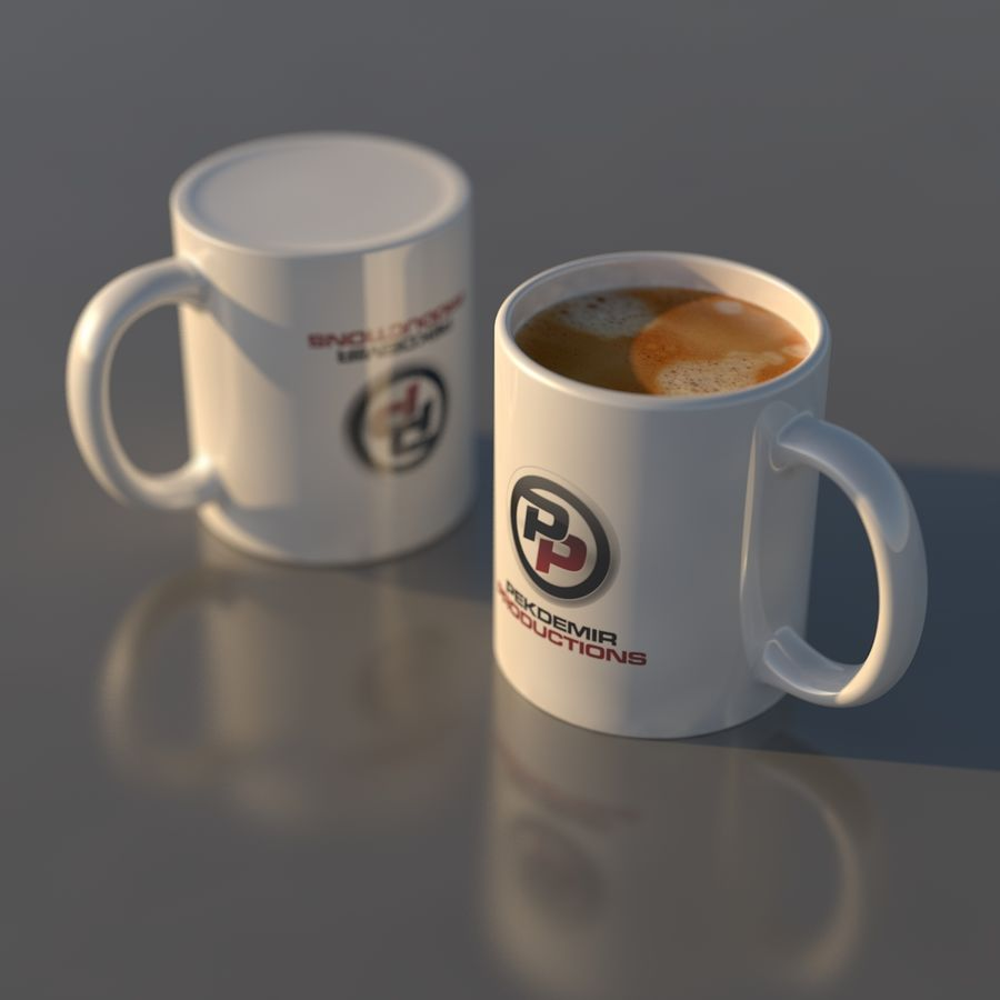 Coffee Mug royalty-free 3d model - Preview no. 3