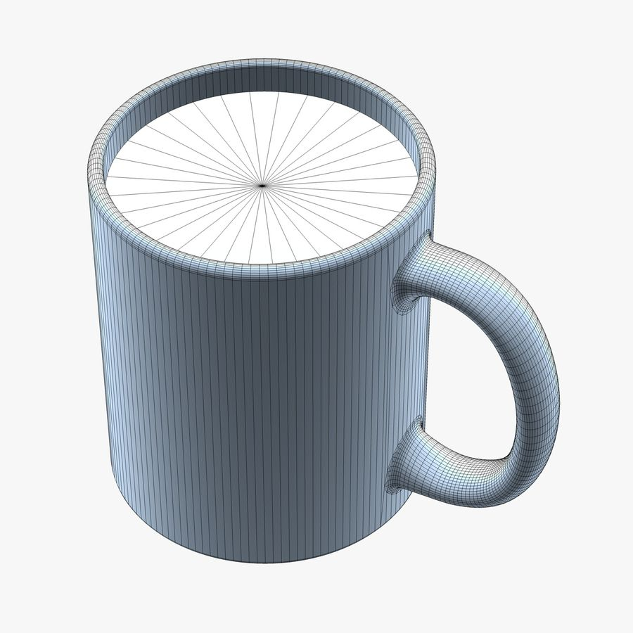 Coffee Mug royalty-free 3d model - Preview no. 7
