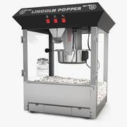 Popcorn machine 3d model