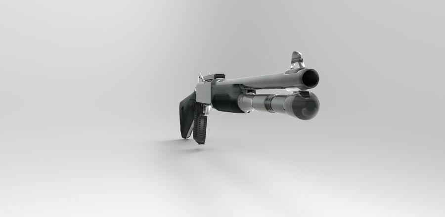 strzelba m1014 royalty-free 3d model - Preview no. 5