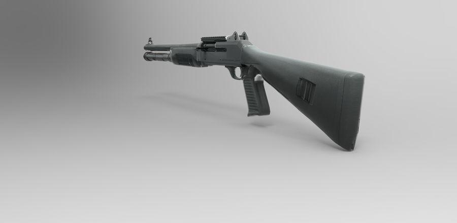 strzelba m1014 royalty-free 3d model - Preview no. 2