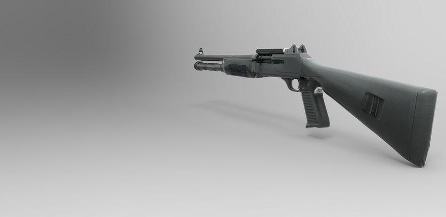 strzelba m1014 royalty-free 3d model - Preview no. 1