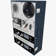 Reel Audio Tape Recorder Deck 3d model