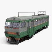 Trem elétrico 3d model
