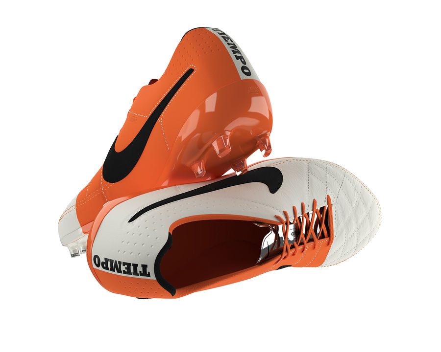Nike Tiempo Legend V Football Boots royalty-free 3d model - Preview no. 7