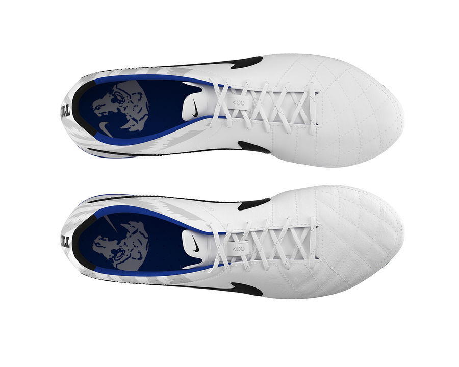 Nike Tiempo Legend V Football Boots royalty-free 3d model - Preview no. 14