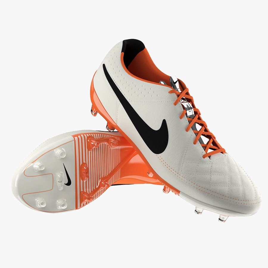 Nike Tiempo Legend V Football Boots royalty-free 3d model - Preview no. 1