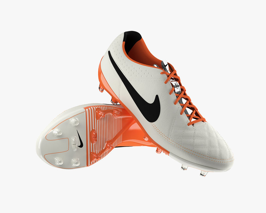 Nike Tiempo Legend V Football Boots royalty-free 3d model - Preview no. 2