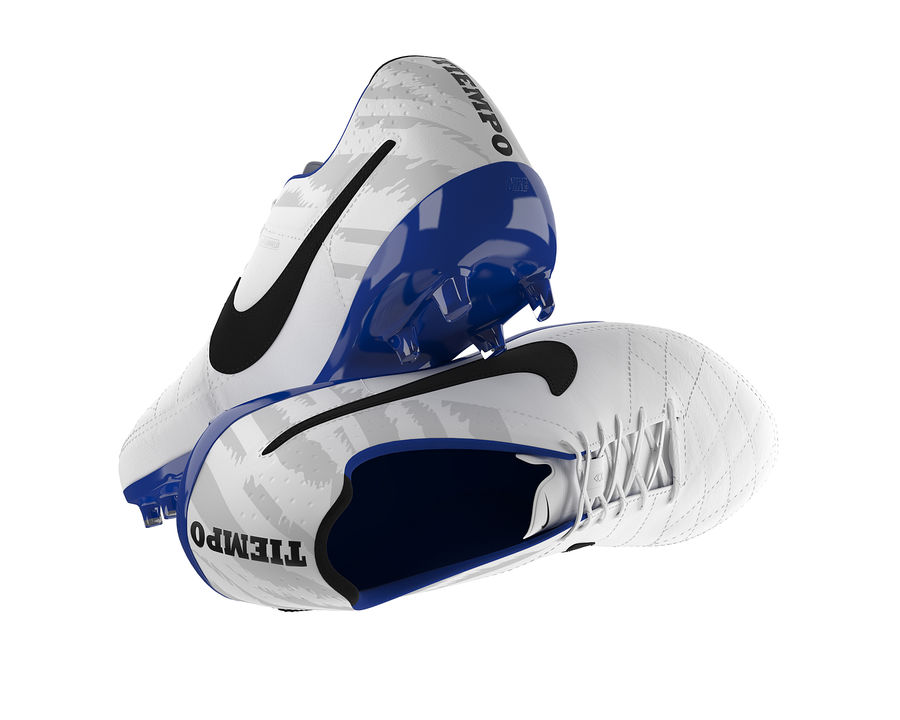 Nike Tiempo Legend V Football Boots royalty-free 3d model - Preview no. 8