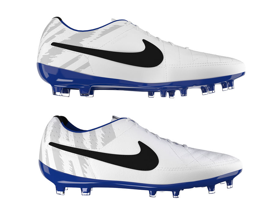 Nike Tiempo Legend V Football Boots royalty-free 3d model - Preview no. 13