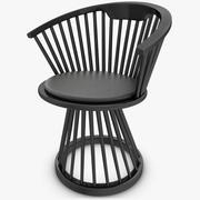 Chaise de salle à manger 3d model