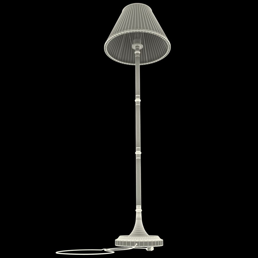 Floor Lamp royalty-free 3d model - Preview no. 19
