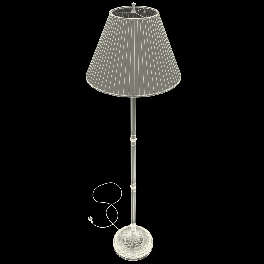 Floor Lamp royalty-free 3d model - Preview no. 22