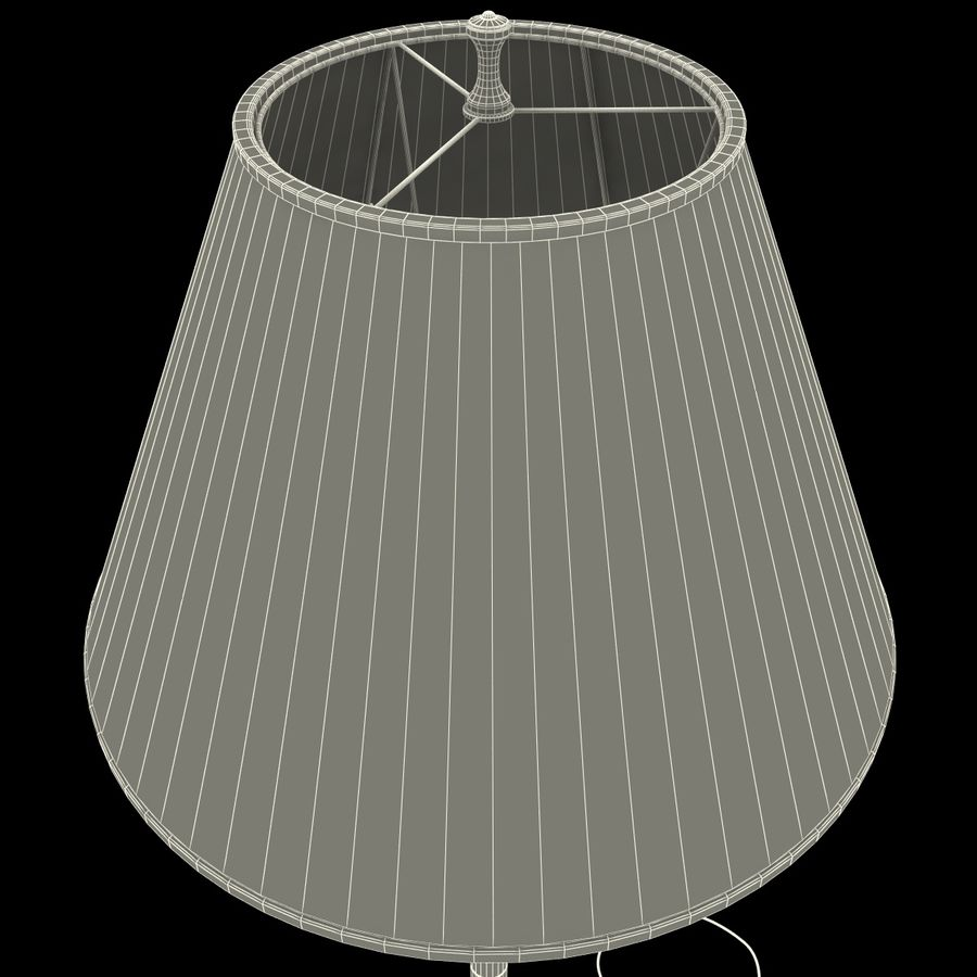 Floor Lamp royalty-free 3d model - Preview no. 23