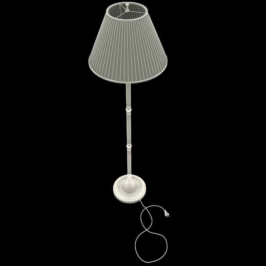 Floor Lamp royalty-free 3d model - Preview no. 18