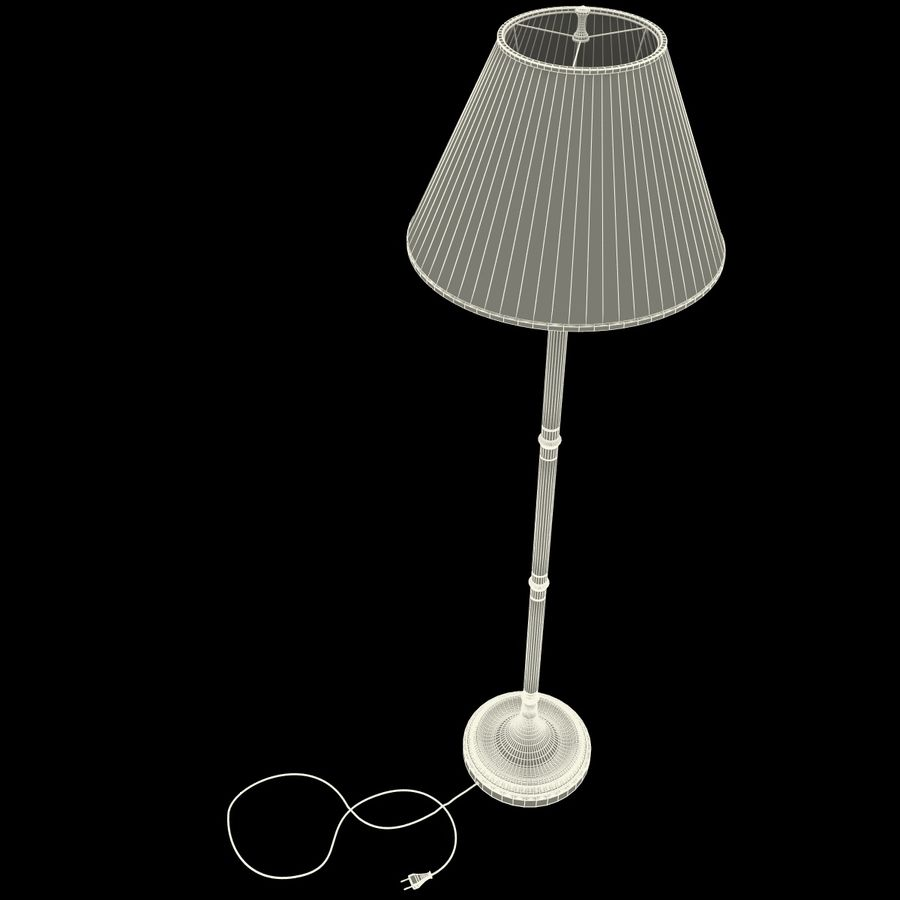 Floor Lamp royalty-free 3d model - Preview no. 20