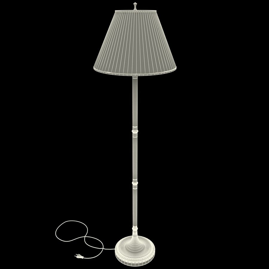 Floor Lamp royalty-free 3d model - Preview no. 21