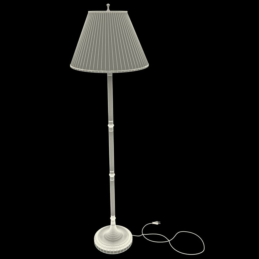 Floor Lamp royalty-free 3d model - Preview no. 17