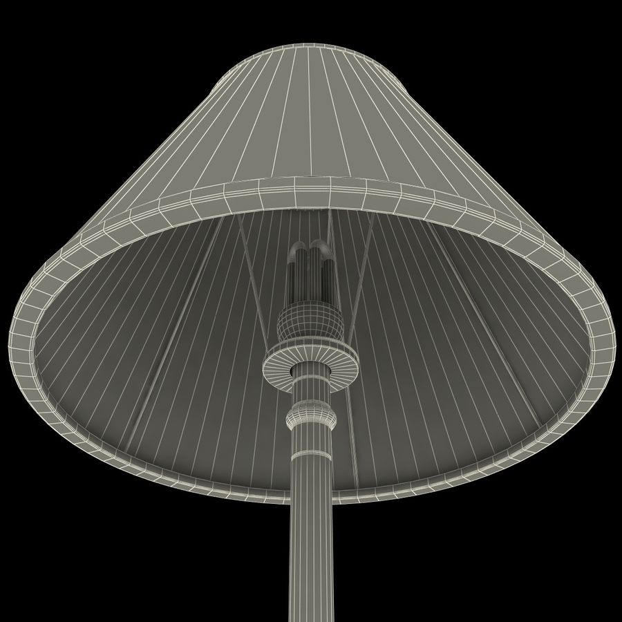 Floor Lamp royalty-free 3d model - Preview no. 24