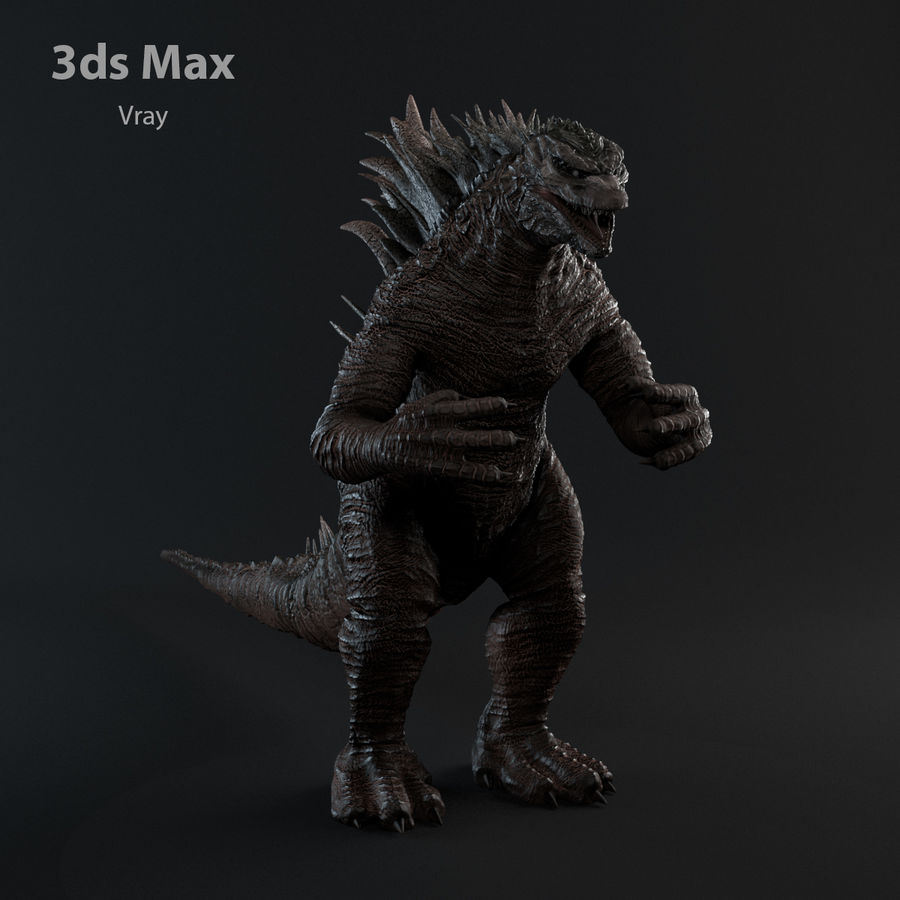 Monster royalty-free 3d model - Preview no. 16
