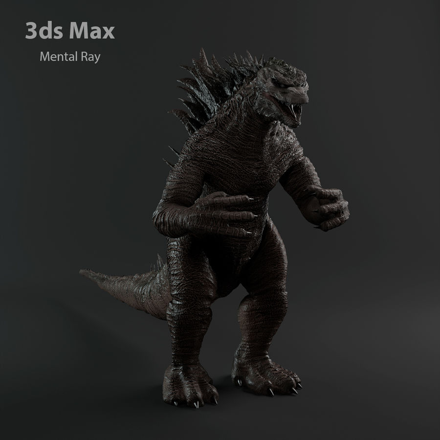 Monster royalty-free 3d model - Preview no. 15